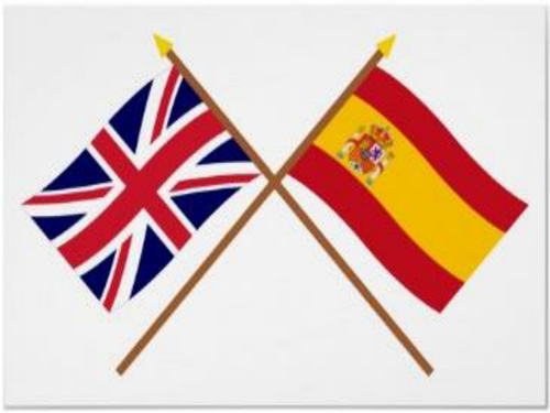 Spain's involvement within the UK