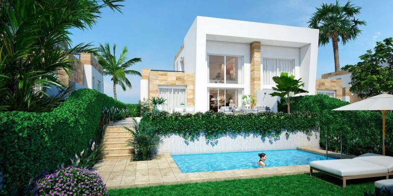 Semi Detached - New Build - Algorfa - La finca golf
