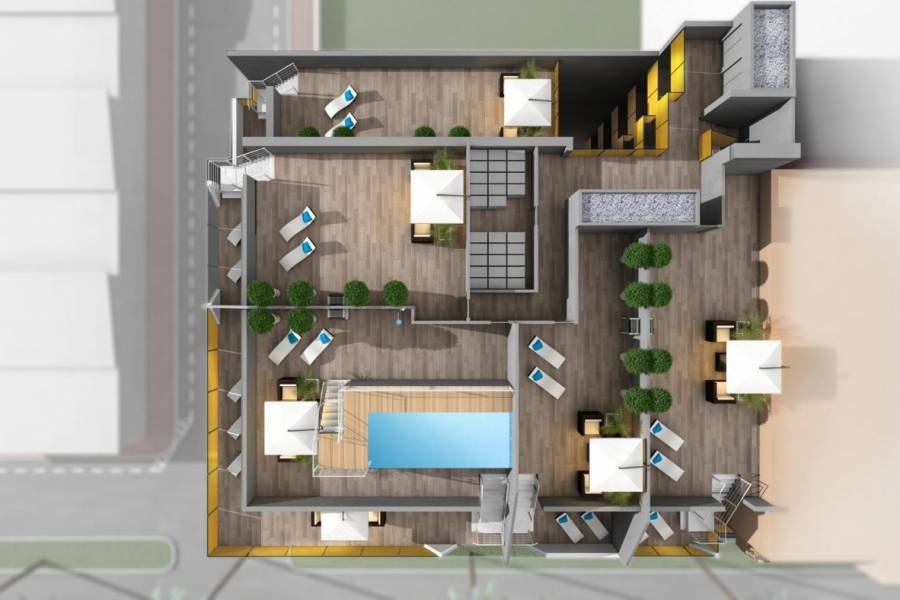 New Build - Apartment - Torrevieja - Habaneras