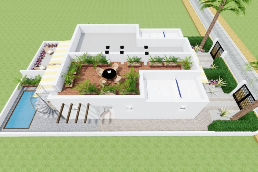 New Build - Semi Detached - Los Alcázares - Los Alcazares