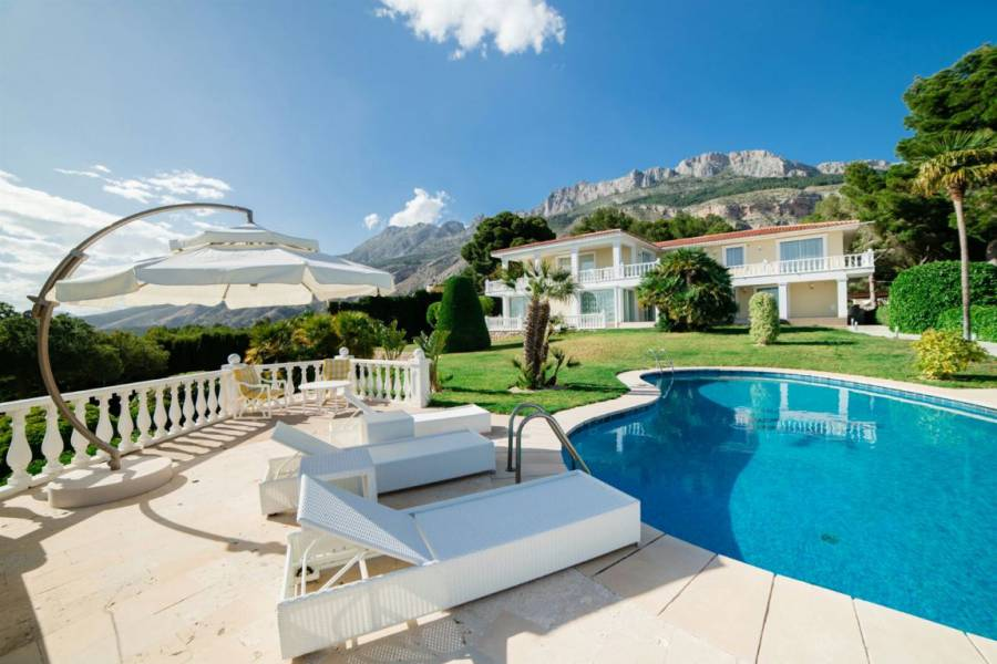 Resale - Detached - Altea - La Sierra